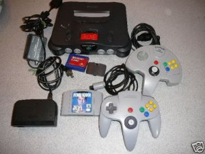 N64 NINTENDO 64 SYSTEM RAM GAME CONTROLLERS TESTED