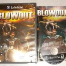 BLOWOUT NINTENDO GAMECUBE 100% COMPLETE PLAYS ON WII