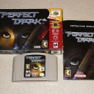 PERFECT DARK MATURE N64 NINTENDO 64 100% COMPLETE BOXED