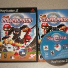 MLB POWER PROS PS2 PLAYSTATION 2 100% COMPLETE