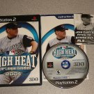 HIGH HEAT MAJOR LEAGUE BASEBALL 2004 PS2 100% COMPLETE