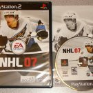 NHL 07 HOCKEY PS2 PLAYSTATION 2 100% COMPLETE