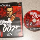FROM RUSSIA WITH LOVE 007 BOND PS2 PLAYSTATION 2