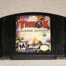 TUROK RAGE WARS MATURE N64 NINTENDO 64 FUN GAME