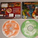 DRAGON'S LAIR 3D RETURN TO THE LAIR 3-D 2 DISC PC CD