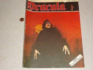 DRACULA NEW ENGLISH LIBRARAY #1 1971 COMIC MAGAZINE