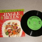 JINGLE BELLS CHRISTMAS VERY NICE 1/3 RPM RECORD BOOK