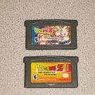 DRAGON BALL Z LEGACY OF GOKU 1 & 2 GAMEBOY ADVANCE GBA