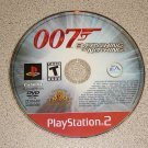 007 EVERYTHING OR NOTHING PS2 PLAYSTATION 2 BOND GAME
