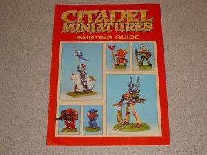 citadel miniatures painting guide games workshop 1992 rh roland13 ecrater com Citadel Paints Acrylic Games Workshop Paint Chart