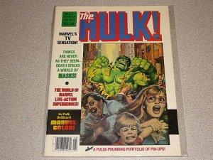 RAMPAGING HULK #16 MARVEL MAGAZINE COMIC INCREDIBLE