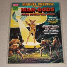 MARVEL PREVIEW MAN GODS #1 & 9 MAGAZINE COMICS VINTAGE