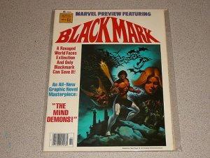 MARVEL PREVIEW BLACKMARK #17 MAGAZINE COMIC VF-NM