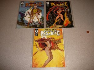 RASCALS IN PARADISE 1-3 RUN DRAK HORSE MAGAZINE COMIC