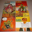 FLUIDE GLACIAL FRENCH MAGAZINE LOT 36-40 4 ISSUES 1979