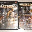 SUFFERING 1 & 2 MATURE PS2 100% COMPLETE 2 GAMES TIES
