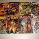 WITCHBLADE 1-27 COMICS COLLECTION 28 ISSUES TOP COW