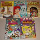 DISNEY'S COLOSSAL COMICS COLLECTION DIGEST 5 ISSUES