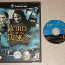 LORD OF THE RINGS TWO TOWERS GAMECUBE PLAYS ON THE WII