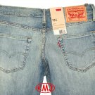 LEVI'S 511 SLIM FIT BLUE STEEL DESTRUCTED LIGHT BLUE STRETCH DENIM JEANS W30 L30