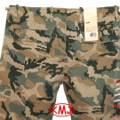 Brand New LEVI'S CHINO REGULAR FIT CLASSIC CAMO CAMOUFLAGE TROUSER PANTS in size W30 L32