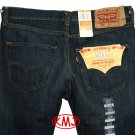 Brand New LEVI'S 501 CLASSIC BUTTON-FLY ADRIAN FADED DARK BLUE DENIM JEANS in size W29 L30