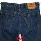 1980s LEVI'S VINTAGE 517 BOOT CUT ORANGE TAB MEDIUM BLUE DENIM JEANS USA W32 L30 (Actual size 30 29)