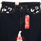 $128.00 Brand New LEVI'S 511 SLIM FIT CHOP TOP INDIGO BLUE STRETCH DENIM JEANS in size W30 L30
