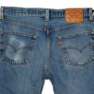 VINTAGE 1999 LEVI'S 501 CLASSIC BLUE DENIM JEANS - Made in USA - W34 L30 (Actual size 32 29)