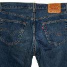 VINTAGE 1998 LEVI'S 501 CLASSIC BLUE DENIM JEANS - Made in USA in size W34 L34 (Actual size 32 33)