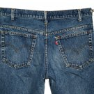 VINTAGE 1984 LEVI'S 517 BOOT CUT MEDIUM BLUE DENIM JEANS - Made in USA - W35 L36 (Actual size 34 34)