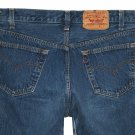 1988 VINTAGE LEVI'S 501 MEDIUM BLUE DENIM JEANS - Made in USA in size W34 L30 (Actual size 30 28)