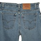 1997 VINTAGE LEVI'S WOMENS 550 RELAXED BLUE DENIM JEANS Made In USA size 13 M (Actual size 30 30)