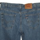 VINTAGE LEVI'S 560 LOOSE FIT TAPERED LEG CLASSIC STONEWASH BLUE DENIM JEANS Made In USA W34 L32