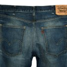 LVC LEVI'S 1960s BIG E 605 SKINNY ANTIQUE WASH STRETCH BLUE DENIM JEANS W31 L32 (Actual size 30 31)