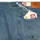 LVC 1890 LEVI'S VINTAGE CLOTHING 501 XX BANDIT BIG E SELVEDGE DESTRUCTED DENIM BLUE JEANS size W25