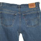 VINTAGE 1980s LEVI'S 501 MEDIUM BLUE DENIM JEANS - Made in USA size W38 L36 (Actual size 34 32)