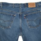 VINTAGE 1980s LEVI'S 501 MEDIUM BLUE DENIM JEANS - Made in USA size W40 L36 (Actual size 36 32)