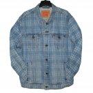 $89.50 Brand New LEVI'S TRUCKER JACKET IN LIGHT BLUE 'LEMONGRASS' DENIM JACKET - in size 3XL