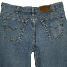 1992 LEVI'S VINTAGE 545 LOOSE FIT STONEWASH BLUE DENIM JEANS Made In USA W36 L32 (Actual 34x31)