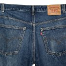 VINTAGE 2001 LEVI'S 517 BOOT CUT CLASSIC BLUE DENIM JEANS - Made in USA size W38 L32 (actual 37 32)