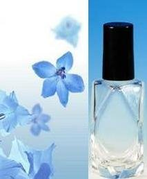 (12 ct) 1/2 oz. (15 ml) Clear Decorative Diamond Shape Glass Fragrance Bottles