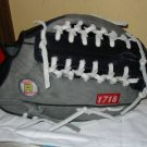 Black and Grey Trapeze with White Lacing
