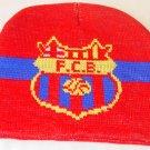 FC BARCELONA BEANIE/SKULL CAP SOCCER BRONX CAP WE SHIP USPS