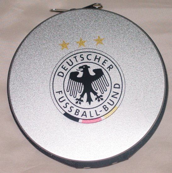 GERMANY CD/DVD CASE SOCCER- WE SHIP USPS