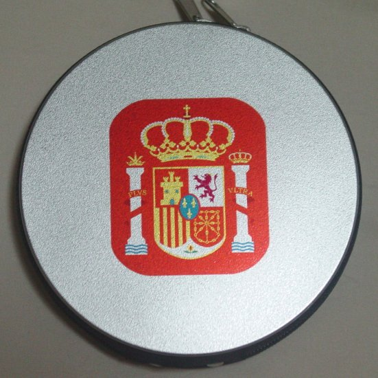 SPAIN CD/DVD CASE SOCCER- WE SHIP USPS