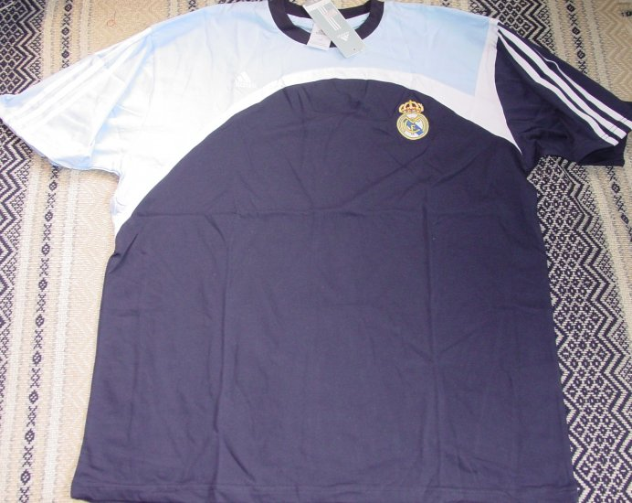 REAL MADRID CF SOCCER T-SHIRT SIZE XXL � (EC) WE SHIP USPS