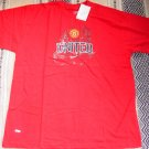 MANCEHESTER UNITED FC SOCCER T-SHIRT SIZE XL – (EC) WE SHIP USPS