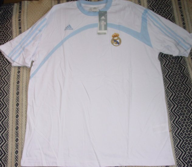 REAL MADRID CF SOCCER T-SHIRT SIZE XL � (EC) WE SHIP USPS