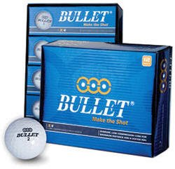 3-DOZEN NEW BULLET X-4 GOLF BALLS